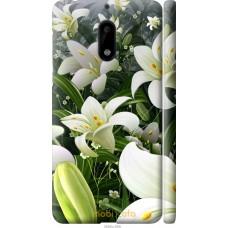 Чехол на Nokia 6 Лилии белые