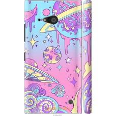Чехол на Nokia Lumia 730 'Розовый космос