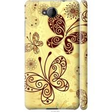 Чехол на Nokia Lumia 650 Рисованные бабочки