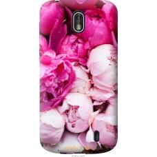 Чехол на Nokia 1 Розовые цветы