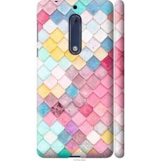Чехол на Nokia 5 Красочная черепица