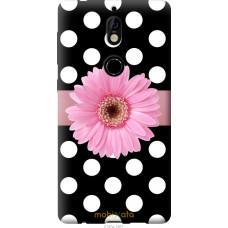 Чехол на Nokia 7 Цветочек горошек v2
