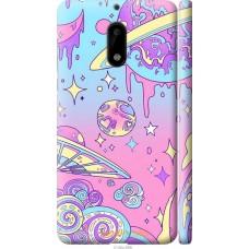 Чехол на Nokia 6 'Розовый космос