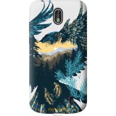 Чехол на Nokia 1 Арт-орел на фоне природы