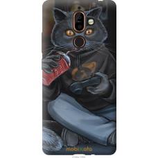 Чехол на Nokia 7 Plus gamer cat