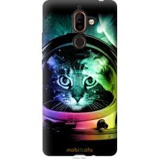 Чехол на Nokia 7 Plus Кот космонавт