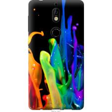 Чехол на Nokia 7 брызги краски