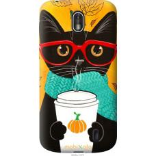 Чехол на Nokia 1 Осенний кот