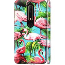 Чехол на Nokia 6 2018 Tropical background