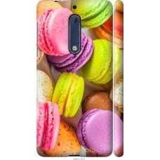 Чехол на Nokia 5 Вкусные макаруны