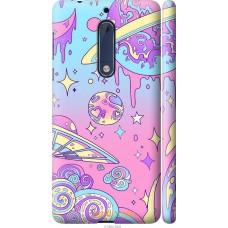 Чехол на Nokia 5 'Розовый космос