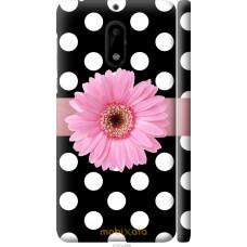 Чехол на Nokia 6 Цветочек горошек v2