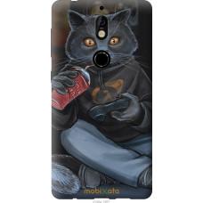Чехол на Nokia 7 gamer cat