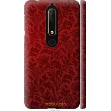 Чехол на Nokia 6 2018 Чехол цвета бордо