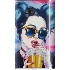 Чехол на Nokia Lumia 730 Стильная девушка