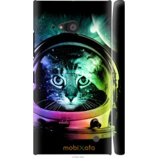 Чехол на Nokia Lumia 730 Кот космонавт