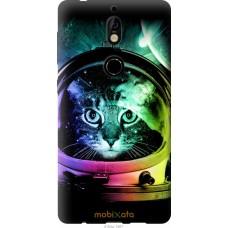 Чехол на Nokia 7 Кот космонавт