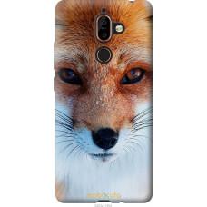 Чехол на Nokia 7 Plus Рыжая лисица
