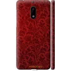 Чехол на Nokia 6 Чехол цвета бордо