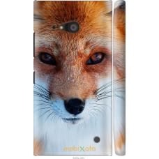 Чехол на Nokia Lumia 730 Рыжая лисица