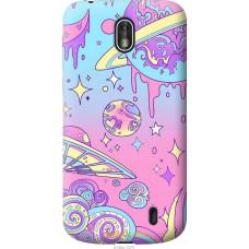 Чехол на Nokia 1 'Розовый космос
