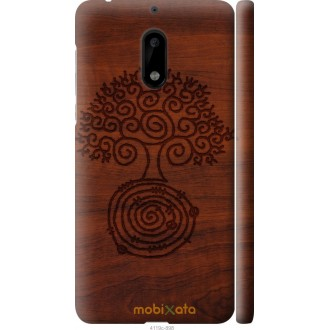 Чехол на Nokia 6 Узор дерева