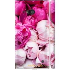 Чехол на Nokia Lumia 730 Розовые цветы