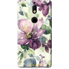Чехол на Nokia 7 Акварель цветы