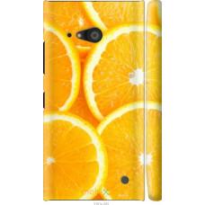 Чехол на Nokia Lumia 730 Апельсинки