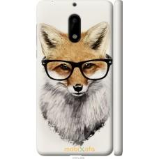 Чехол на Nokia 6 'Ученый лис