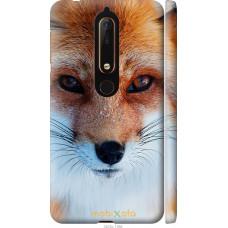 Чехол на Nokia 6 2018 Рыжая лисица