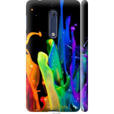 Чехол на Nokia 5 брызги краски