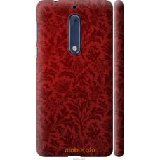 Чехол на Nokia 5 Чехол цвета бордо