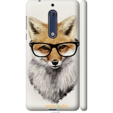 Чехол на Nokia 5 'Ученый лис
