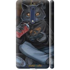 Чехол на Nokia 5 gamer cat