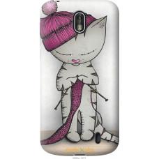 Чехол на Nokia 1 Кошка рукодельница