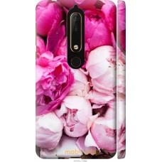 Чехол на Nokia 6 2018 Розовые цветы