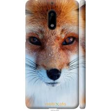 Чехол на Nokia 6 Рыжая лисица
