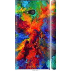 Чехол на Nokia Lumia 730 Акварель на холсте