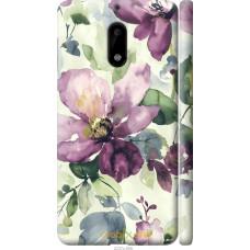 Чехол на Nokia 6 Акварель цветы