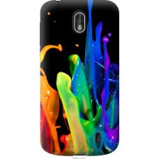 Чехол на Nokia 1 брызги краски