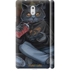 Чехол на Nokia 3 gamer cat