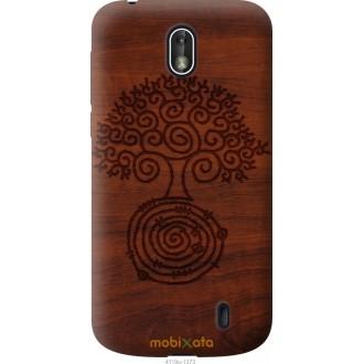 Чехол на Nokia 1 Узор дерева