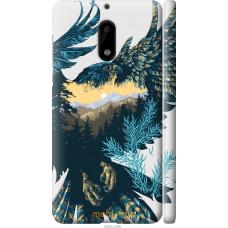 Чехол на Nokia 6 Арт-орел на фоне природы