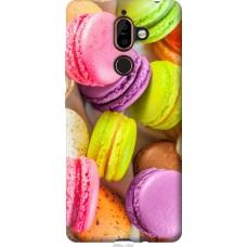 Чехол на Nokia 7 Plus Вкусные макаруны