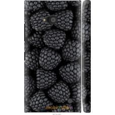 Чехол на Nokia Lumia 730 Черная ежевика