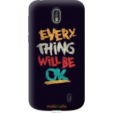 Чехол на Nokia 1 Everything will be Ok