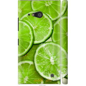 Чехол на Nokia Lumia 730 Лайм