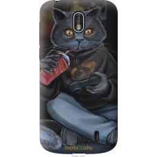 Чехол на Nokia 1 gamer cat