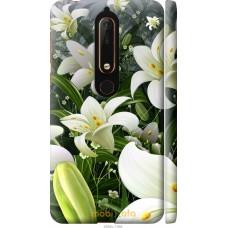 Чехол на Nokia 6 2018 Лилии белые